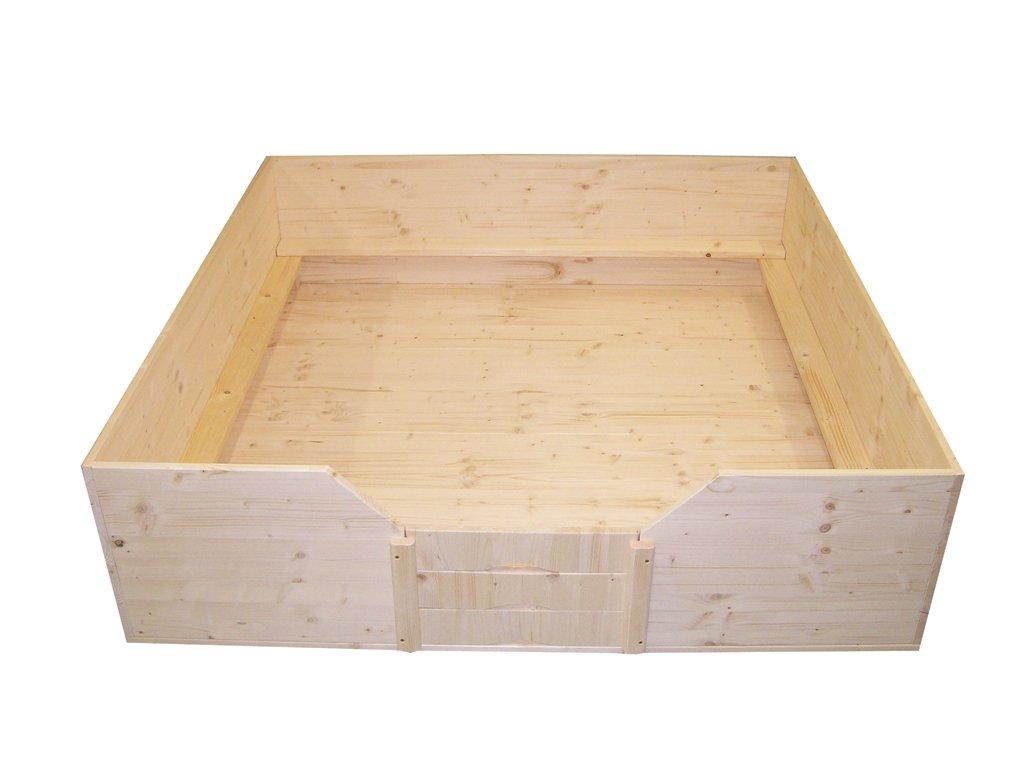 Easy-Hopper Wurfbox / Welpenbox / Schlafplatz Standard mit Welpenschutz 150x150 cm