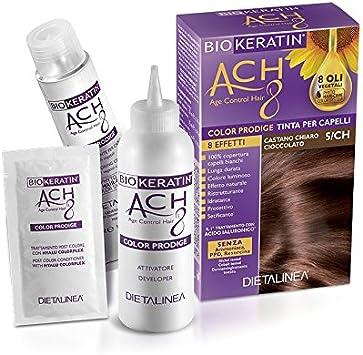 Biokeratin ACH8 Color Prodige - Tinte para el cabello 5/CH ...