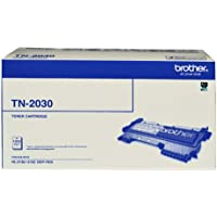 Brother Genuine TN2030 Toner Cartridge, Black, Page Yield Up to 1000 Pages, (TN-2030)