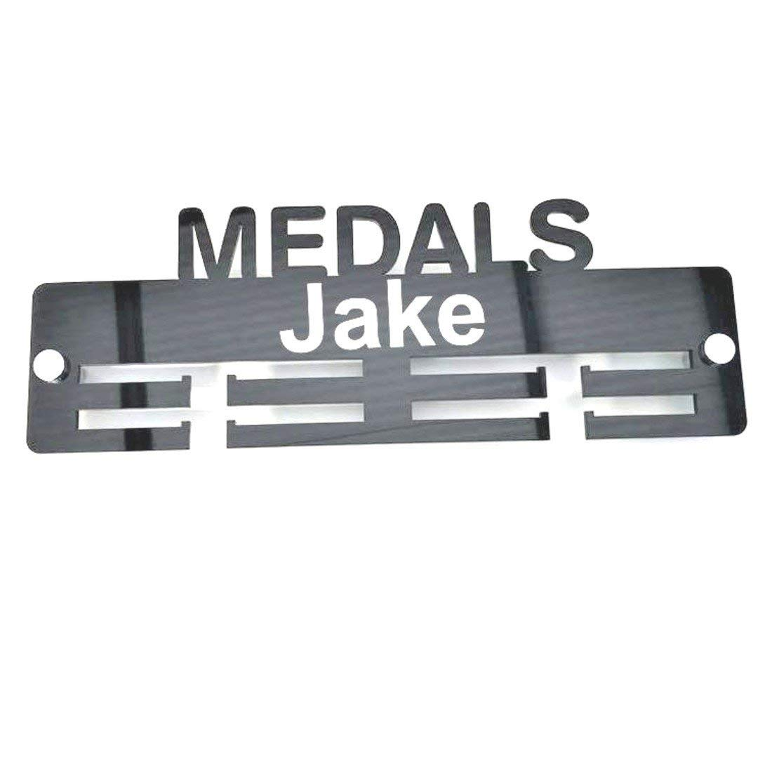 Super Cool Creation Personalised'Medal' Medal Hanger - Blue Mirror