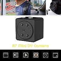 For A7 DV Camera,Night Vision Full HD 1080P Mini Sport Car DV DVR Camera Hidden Camcorder IR