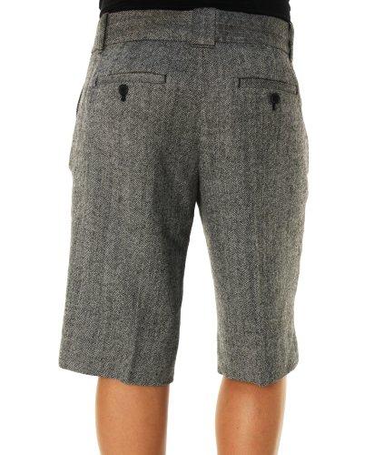 Shorts de tenue décontractée de longueur du genou des femmes d'équipage de J