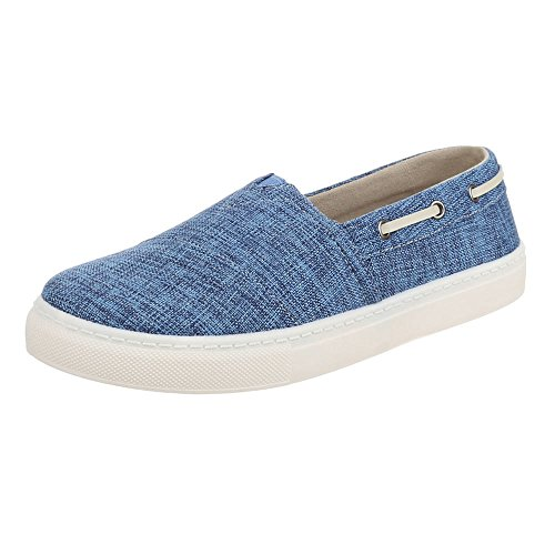 Ital-Design - Zapatos Hombre Azul - azul
