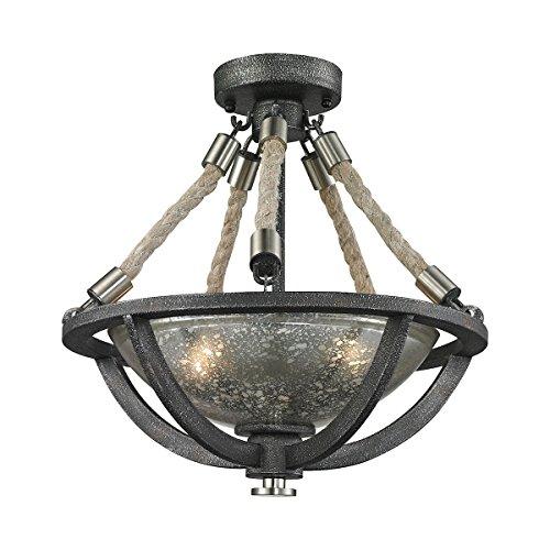 Elk Lighting 63052-2 Ceiling-Pendant-fixtures Silver