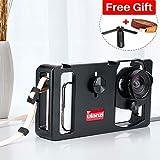 Ulanzi U-Rig Metal Handheld Smartphone Video Rig Stabilizer Handle Grip w Camera Lens for iPhone Vlogger Videographer Filmmakers