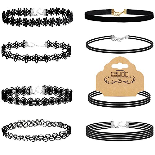 Caydo Pieces Choker Necklace Tattoo product image