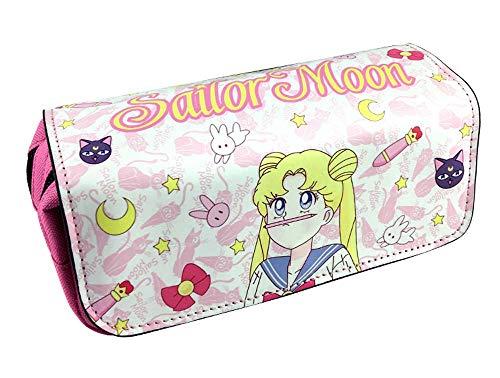 n Pen Bag Anime Cartoon Pencil Case Stationery Bags School Pens Bags School Supplies Girls ()