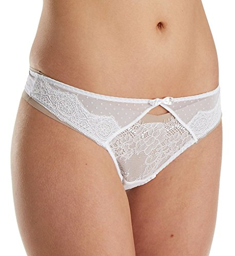 Passionata by Chantelle Blossom Thong Panty (4867) XS/White
