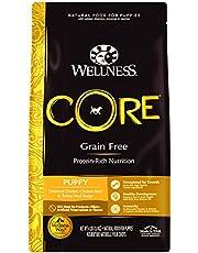 Wellness Core Natural Dry Grain Free Puppy Food, Chicken & Turkey, 4-Pound Bag