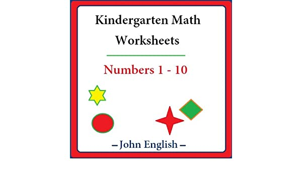 Counting Number worksheets math go worksheets : Amazon.com: Kindergarten Math Worksheets: Numbers 1 - 10 eBook ...