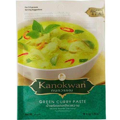 green-curry-paste-kaeng-keaw-wan-thai-authentic-herbal-food-netwt-50g-176-oz-kanokwan-brand-x-3-bags