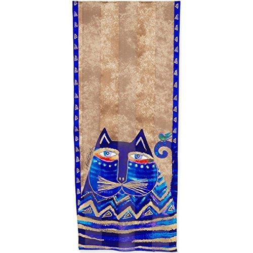 (Logeso(TM) Laurel Burch Scarves Azul LBS2-196)