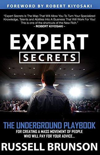 Expert Secrets by Russell Brunson inspirational books to read in the morning