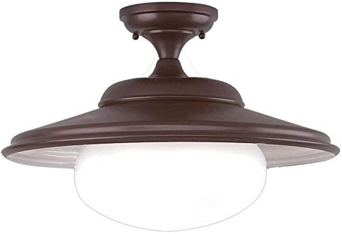 Hudson Valley Lighting 9109-OB Independence Collection – One Light Pendant, Old Bronze