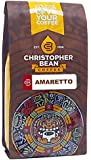 Christopher Bean Coffee Flavored Whole Bean Coffee, Amaretto, 12 Ounce
