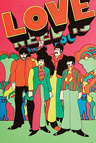 Beatles Poster Yellow Submarine