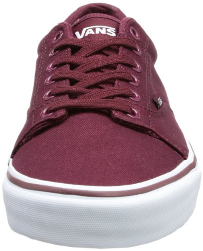 Vans M KRESS (CANVAS)PORT RO - Zapatillas de lona hombre rojo - Rot ((Canvas) port royale/white)