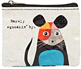 #6: Blue Q Coin Purse: Barely Squeakin By