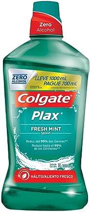 Enxaguante Bucal Colgate Plax Fresh Mint 1000ml Promo Leve 1000ml e Pague 700ml