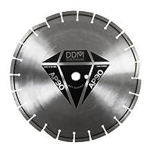 Dixie Diamond Manufacturing AP9014125 Asphalt Premium Grade for Wet Cutting, 14-Inch X 0.125-Inch X 1-Inch