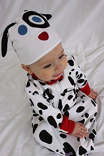 Sozo Baby-Boys Newborn Dalmation Bunting and Cap Set