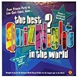 Best Quiz Night in the World; From Private Party to Live Quiz Event