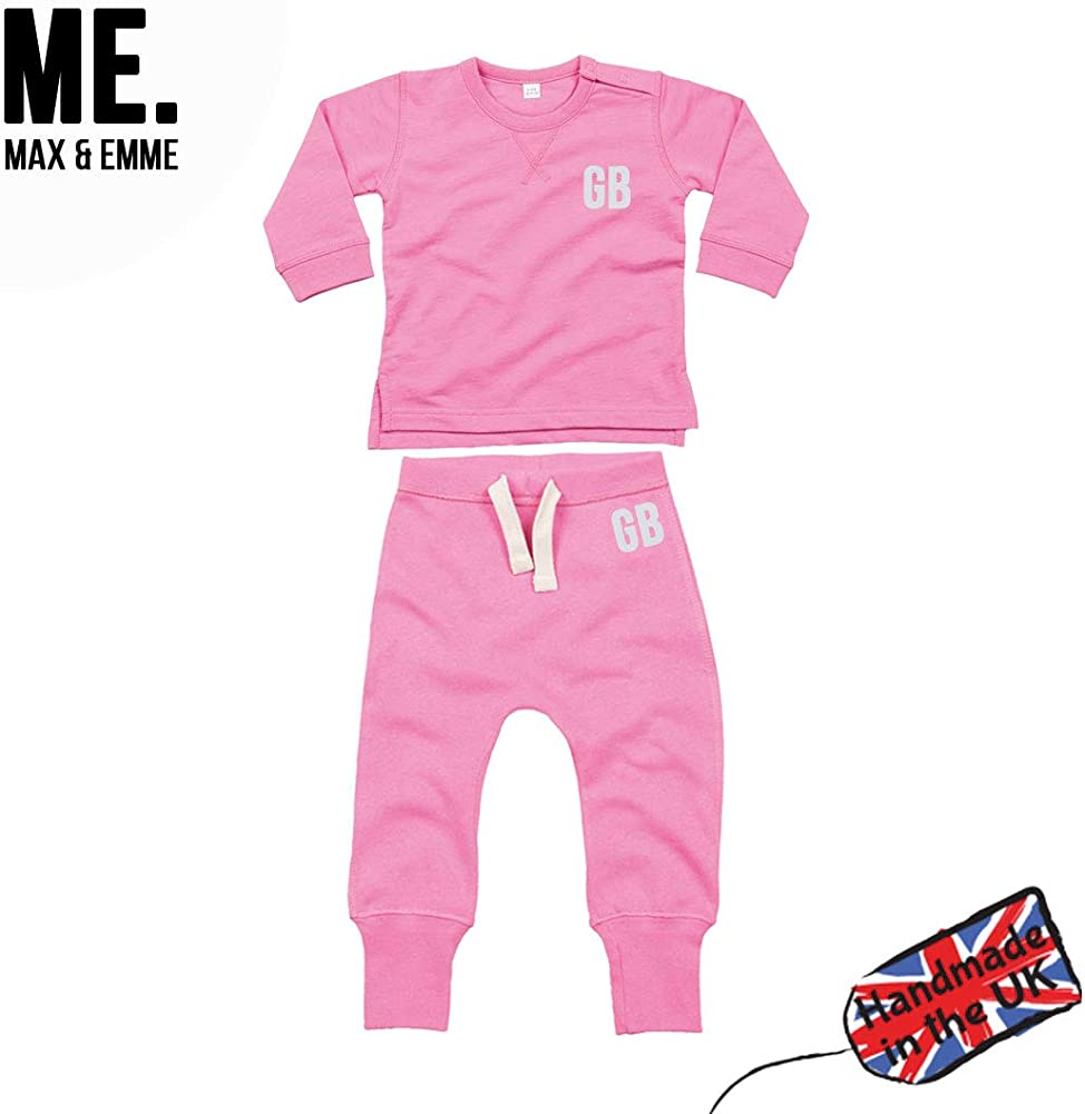Max & Emme - Chándal Unisex para bebé, Personalizable, Color Azul ...