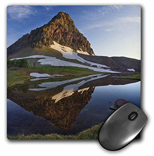 3dRose LLC 8 X 8 X 0.25 Inches Logan Pass, Glacier National Park, Montana Adam Jones Mouse Pad (mp_91567_1) ()
