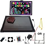 FunHaven Sensory LED Light Up Drawing/Writing Board for Special Needs, Autism, ADHD Toys Kids (30 x 40cm)