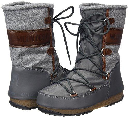 Boot Brown Womens Felt Grey Vienna Moon WE Boots a0dUgqn