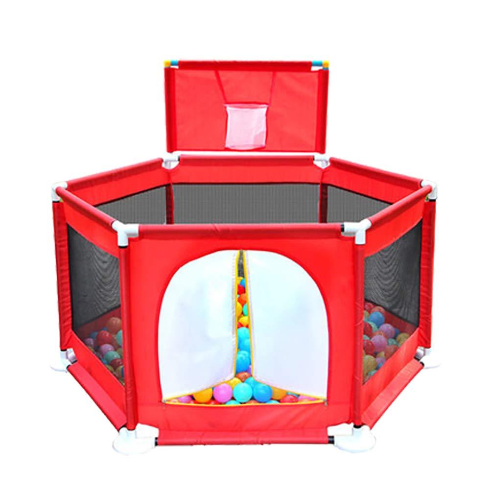 【超特価sale開催】 赤ちゃんのPlaypensガードレールシンプルなクローリング幼児フェンスオーシャンボールプール屋内遊び場おもちゃの家ボール B07H6HSD3Y、赤 (色 (色 : Playpen+200 balls) Playpen+200 Playpen+200 balls B07H6HSD3Y, HAPPYCRAFT:f4c6d5fe --- a0267596.xsph.ru