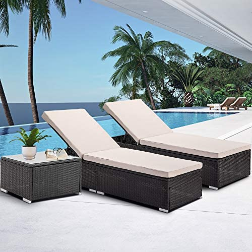 Bronze Tree Patio Chaise Lounge
