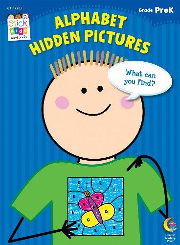 Alphabet Hidden Pictures Stick Kids Workbook, Grade PreK (Stick Kids Workbooks)