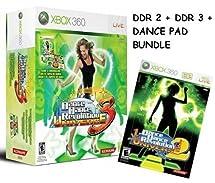 Dance Dance Revolution Universe 2 + 3 + Dance Pad Bundle [Xbox 360]