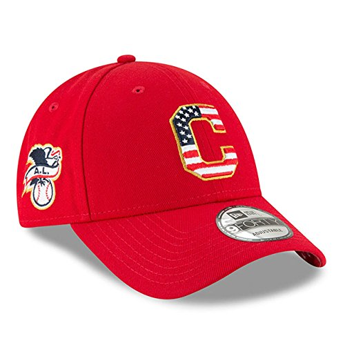 Cleveland Indians Star - New Era Cleveland Indians 2018 July 4th Stars and Stripes 9FORTY Adjustable Hat