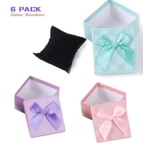 [Geekercity Beautiful Fashion Gift Box | Jumbo Scrapbook Storage Box | Jumbo Jewelry Gift Box with Lids | Gift Bag for Wedding Supply, Birthdays, Bridal and Baby Showers [6] (Home Made Angel Costumes Kids)