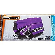 Matchbox - Power Grabs Box 13/125 - Purple Zamboni Ice Resurfacing Machine