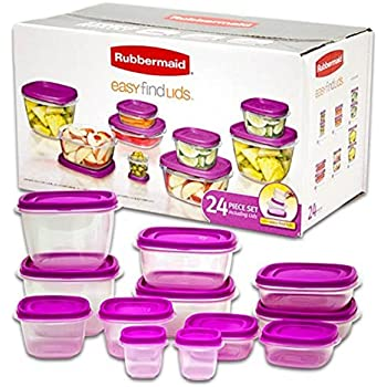 Amazon Com Rubbermaid Takealongs 3 7 Cup Divided