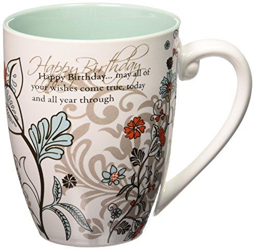 Happy Birthday Coffee Mug - Mark My Words Happy Birthday Mug, 4-3/4-Inch, 20-Ounce Capacity