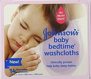 Amazon Com Johnson S Baby Bedtime Disposable Washcloths