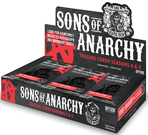 Season Cards 4 Box Trading - 2015 Cryptozoic 'Sons of Anarchy' Seasons 4 & 5 Trading Card Box