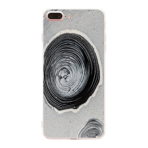 Price comparison product image Beryerbi iPhone 7 Plus Cover Soft TPU Transparent Clear Soft Silicone Protective Cover For Apple 7 (8,  iPhone 7 Plus)