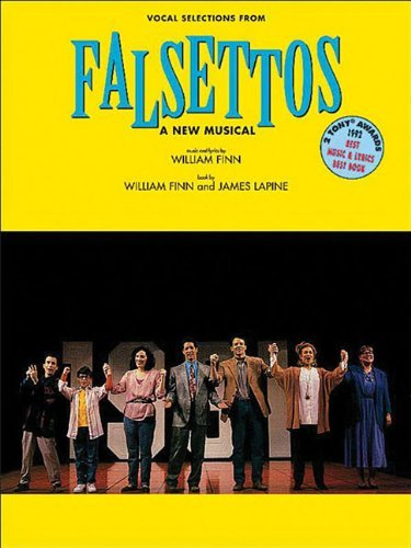 Falsettos Vocal Selections For Pianovocalchords Kindle Edition
