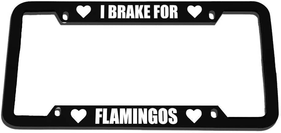 Racing angel Personalized Auto Truck Car Front Tag Humor Funny Aluminum Metal License Plate Frame Cover 12 x 6 Inches.