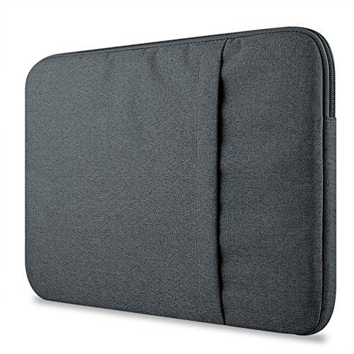 YiJee Funda Protectora Antigolpes Ordenador Bolso para Portátil Laptop Tableta 13 Pulgada Gris Oscuro