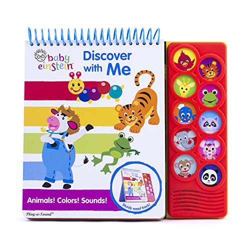 Baby Einstein - Learning Easel: Discover With Me Animals! Colors! Sounds! - PI Kids