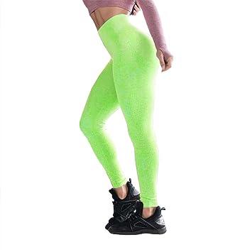 ZODOF Mallas Deportivas Mujer Leggins Yoga Pantalon Color ...