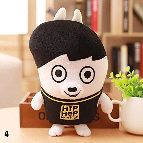 WXLAA BTS Plush Doll Cartoon Toy Boys Kid Gifts Plush Toys Soft Toys 04