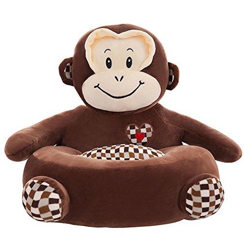 Arrowder Children Pp Cotton Plush Cartoon Toys Sofa animal Chairs for Christmas Gift Monkey 2