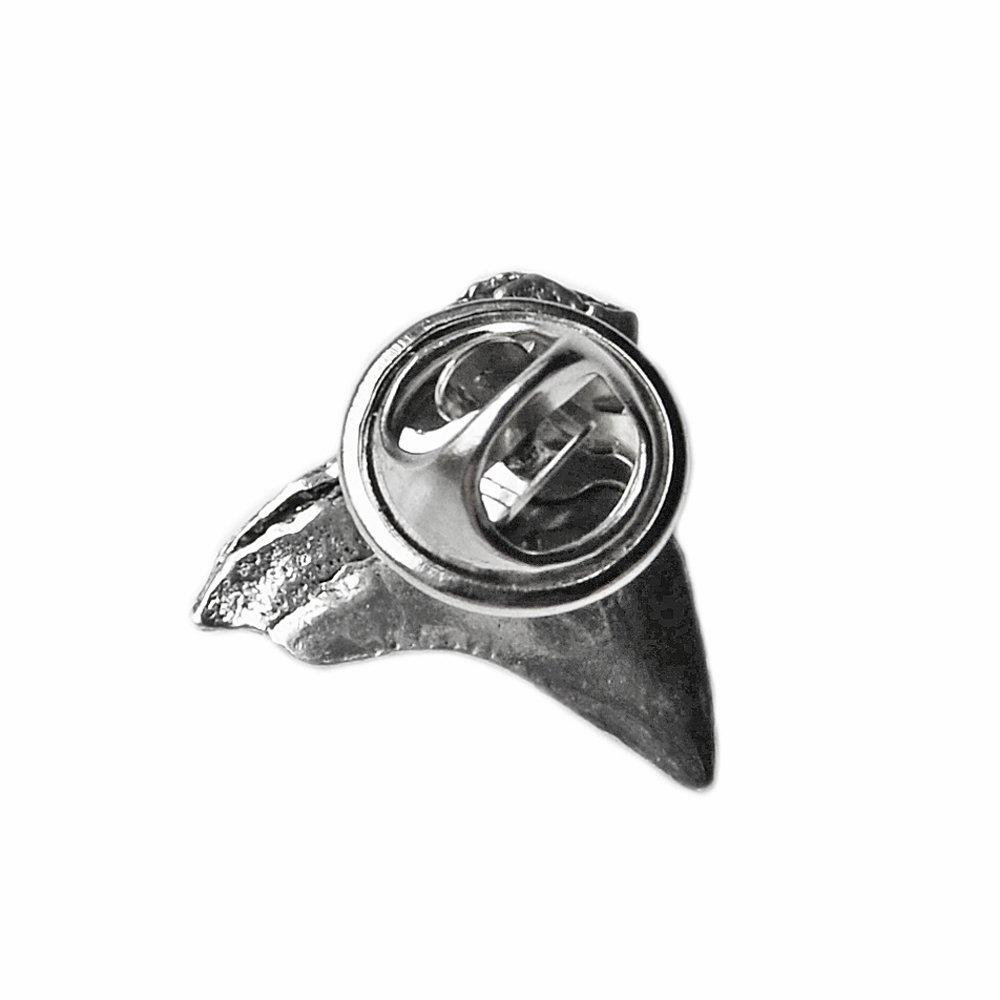 Shark Tooth Lapel Pin